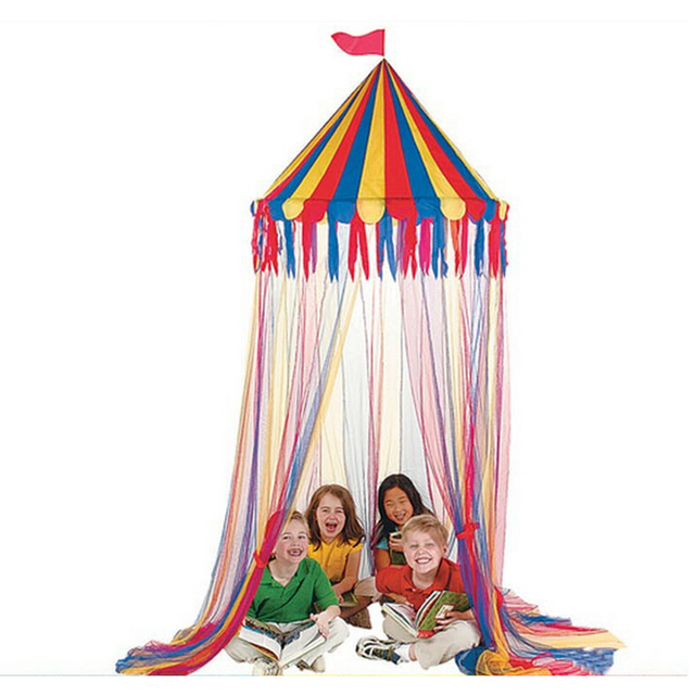 Real Big Top Circus Canopy Hanging Toy Tent For Children Play Game Tents Kids Birthday Party  sc 1 st  AliExpress.com & Real Big Top Circus Canopy Hanging Toy Tent For Children Play Game ...
