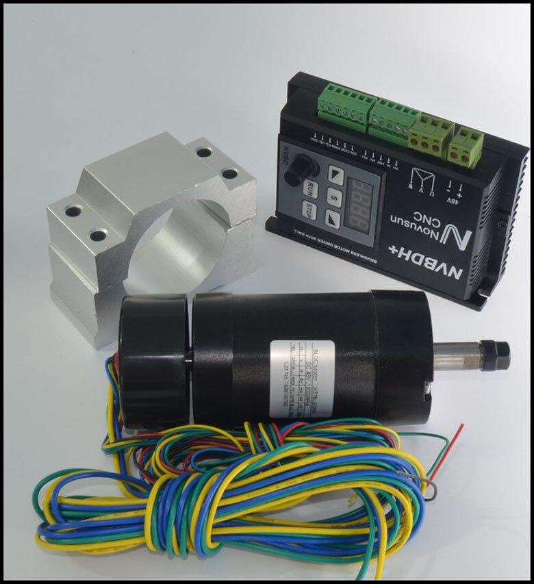 font b CNC b font 400W DC Brushless Spindle Motor Driver Kit LCD control panel