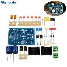 LM317-Module d'alimentation filtre réglable   Régulateur de tension AC DC 1.25-37V, Module réglable, kit de bricolage, LM337