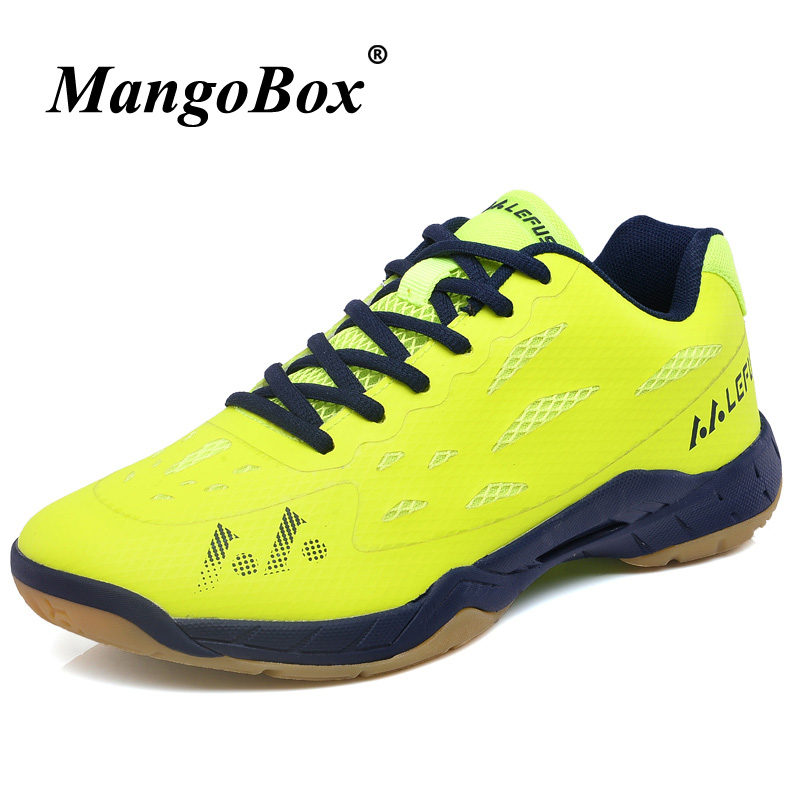 Original Badminton Shoes For Men Rubber Sole Young Boy Table Tennis Gym Shoes Light Girls Sport Shoes Non-Slip Badminto Trainers france tigergrip waterproof work safety shoes woman and man soft sole rubber kitchen sea food shop non slip chef shoes cover