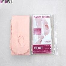 Hurtownia rajstopy baletowe dla dorosłych dziewczynki białe aksamitne kabriolet taniec pończochy różowe rajstopy baletowe 12 par z otworem
