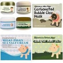 Elizavecca Milky Piggy 4 models Carbonated Bubble Clay Mask Green Piggy Collagen Jella Pack Aqua Brightening Mask 100g green piggy collagen