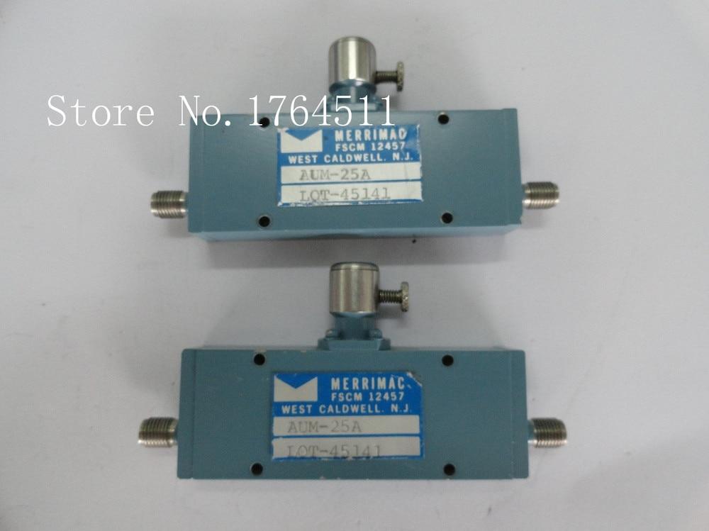 [BELLA] Adjustable Variable Attenuator MERRIMAC AUM-25A 0-40dB 0.5-12GHz Extension
