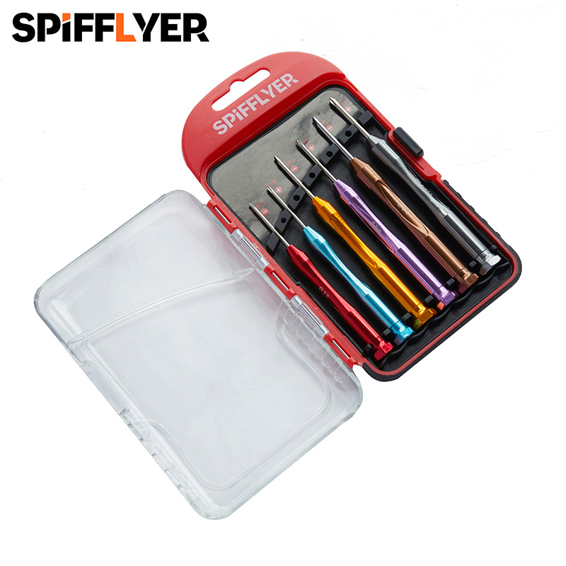 6pc Mini <font><b>Screwdriver</b></font> Set of <font><b>Screwdriver</b></font> Kit Tools Set <font><b>Screwdrivers</b></font> Precision <font><b>Screwdriver</b></font> Set Screw Tools CRV Repair Hand Tool image