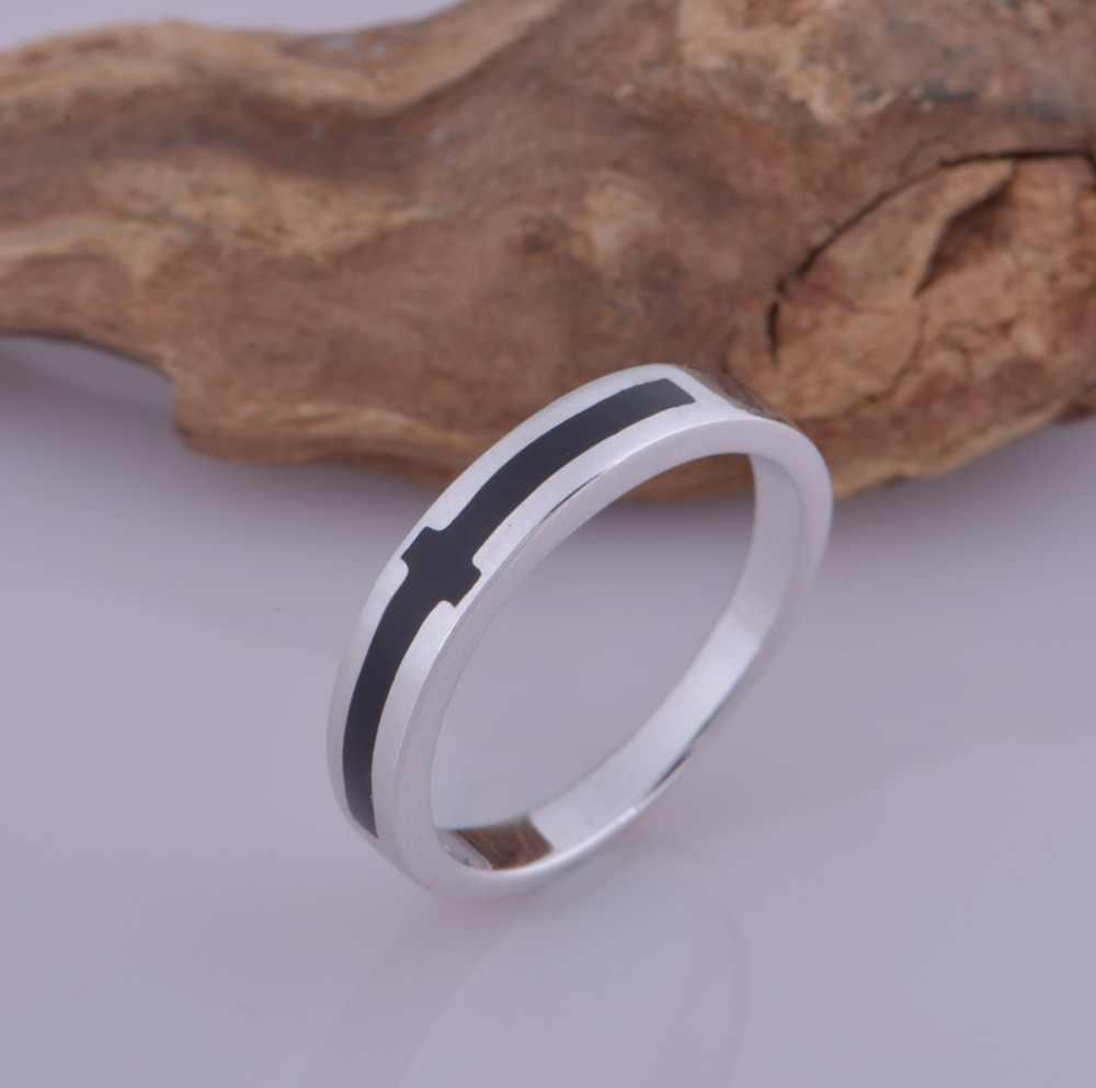 Romantische Paar Ringen Plated Gouden Sieraden Ringen Cross Vorm Voor Liefhebbers Paar Ringen Wedding Anniversary J030