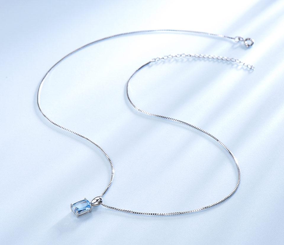 Honyy Sky blue topaz silver sterling jewelry sets for women EUJ054B-1-pc (7)