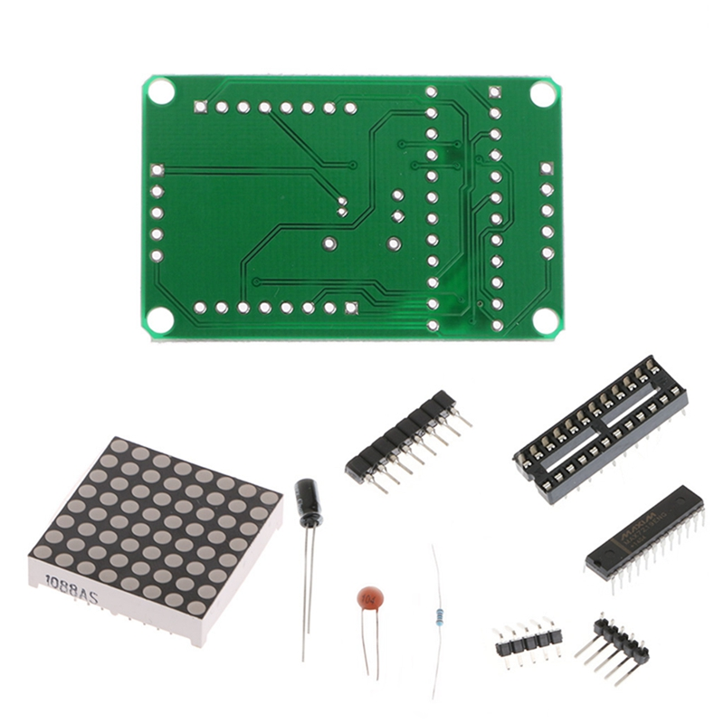 Hot Sale For MAX7219 Red Dot Matrix Module MCU Control Display Module DIY Kit For Arduino New 2017