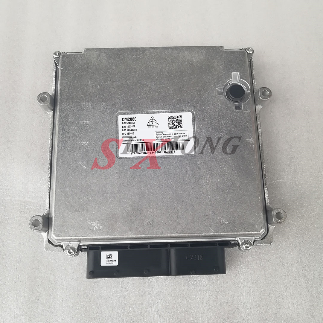 Electronic Control Module >> Us 490 0 5348867 Cm2880 Genuine Isg Diesel Motor Part Electronic Control Module Ecm Ecu For Cummins In Truck Engine From Automobiles Motorcycles