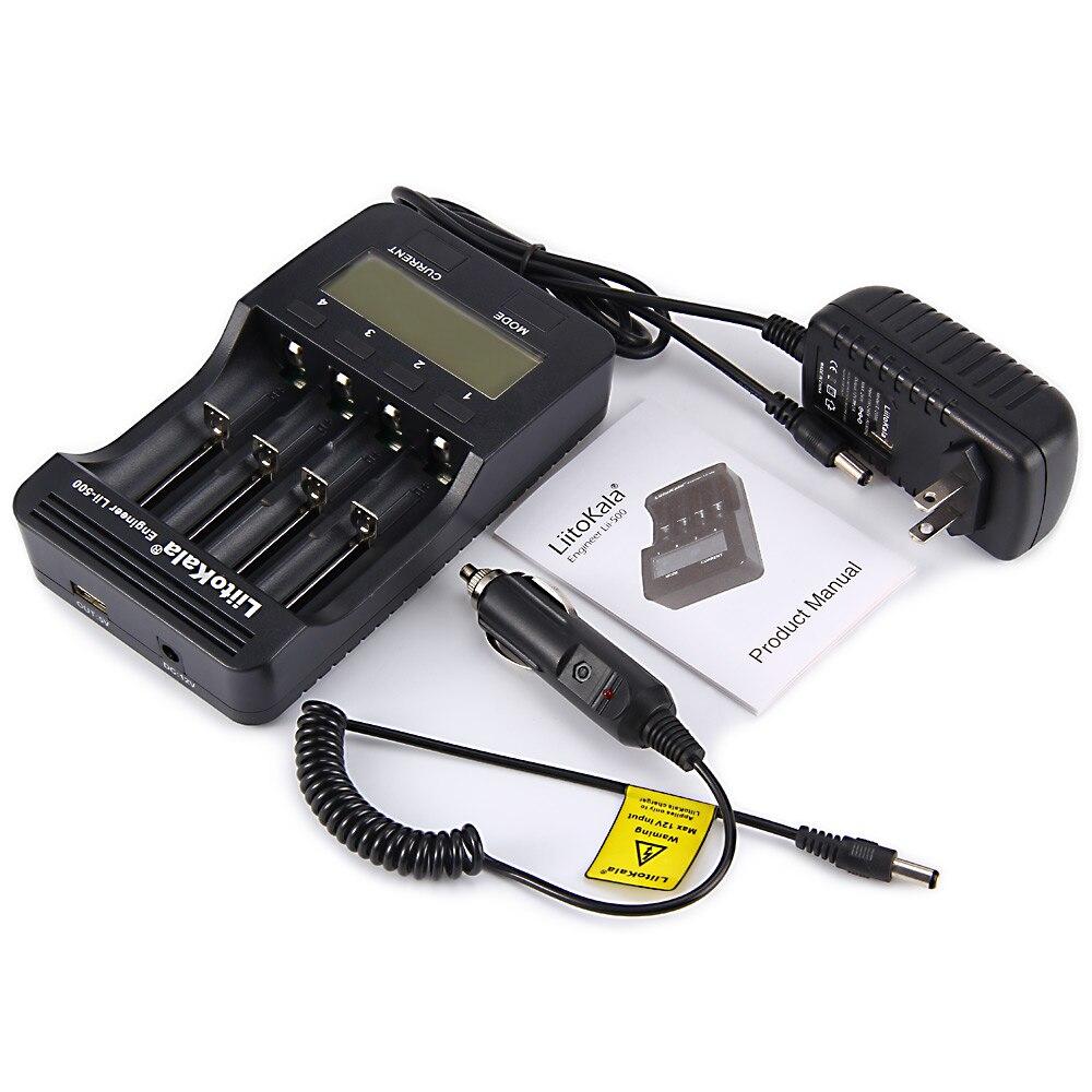 (US EU UK STECKER) liitoKala lii-500 LCD 3,7 v 1,2 v 18650 26650 16340 14500 10440 18500 20700B 21700 Batterie Ladegerät mit bildschirm