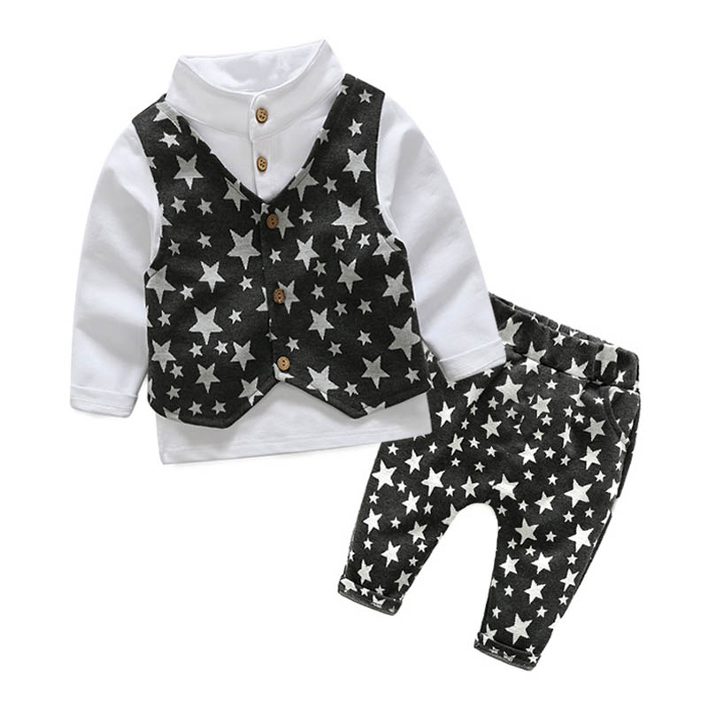 Boys Clothes Sets Formal Gentleman Suit 3Pcs/Set  Children Clothing Set Kids Clothes for Baby Birthday Wedding Party кашпо cube planter m keter