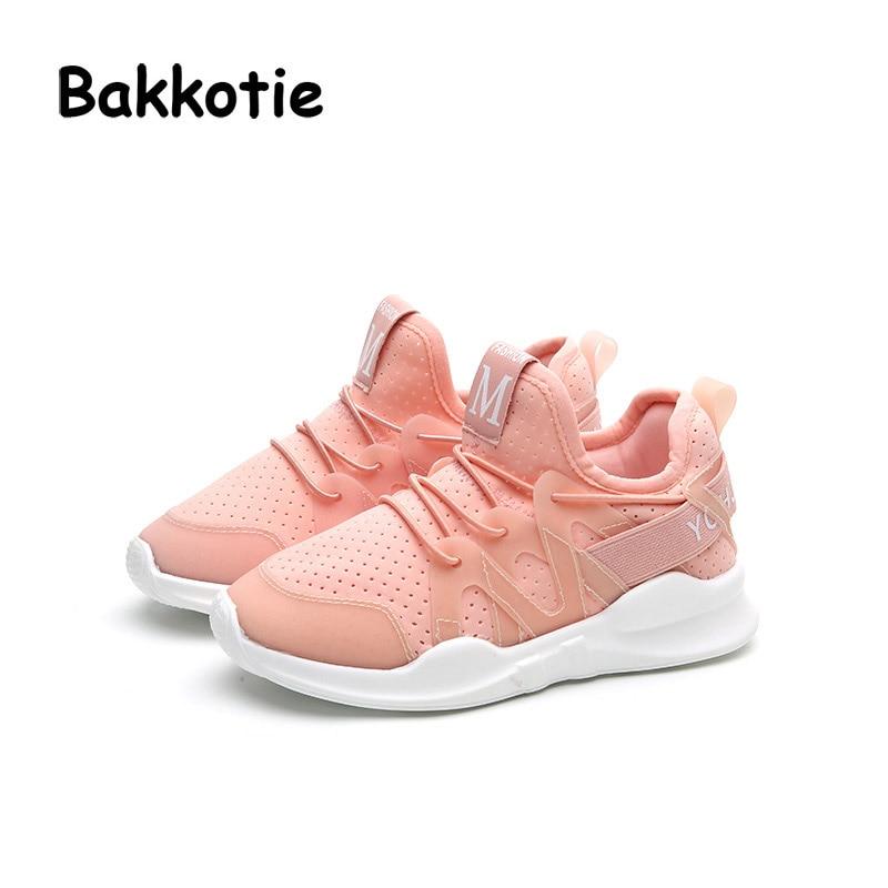 Bakkotie 2017 New Fashion Children Spring Baby Boy Casual Sport White Shoe Kid Mesh Sneaker Brathable