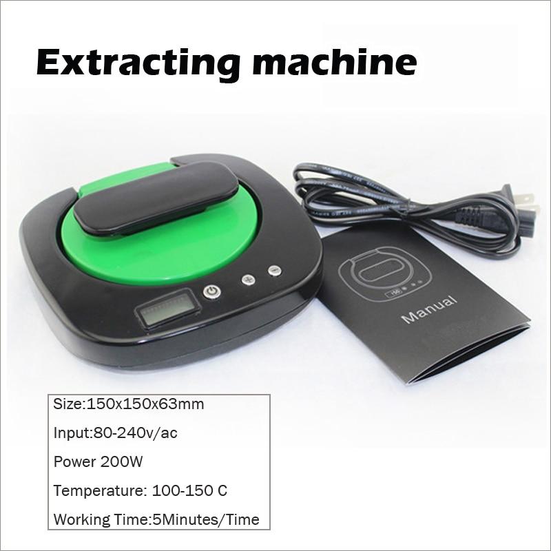 Leiqidudu bricolage colophane e cigarette presse outil d'extraction chaleur presse Machine colophane huile extraction machine cigarette électronique