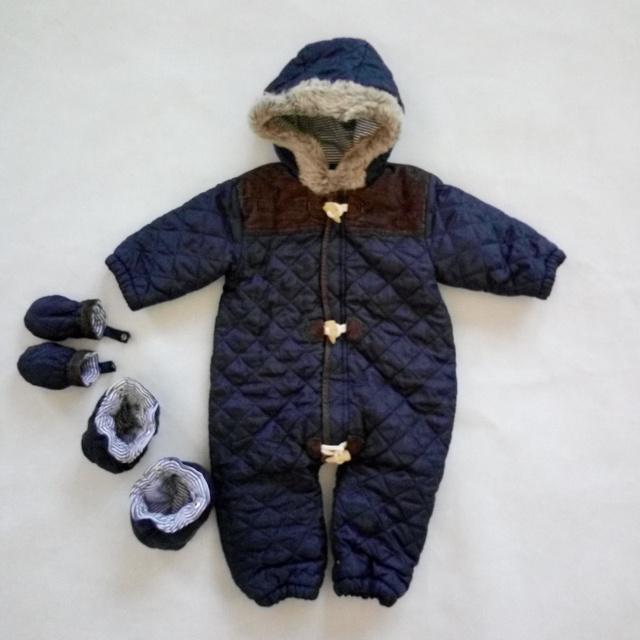 Bebé Mamelucos Infantiles de Invierno Gruesa Ropa de Escalada Mameluco Recién Nacido Del Bebé Muchachas de Los Muchachos Caliente Encapuchado Outwear