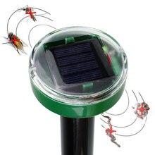 ФОТО Solar Power Eco-Friendly Ultrasonic Mosquitos Pest Balcony Garden Control