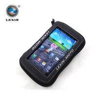 Бренд Лексин 5.5 «черный Мотоцикл Нефть Топливного Бака Сумка Магнитный седло сумка для Iphone6 6 плюс Samsung Glaxy S3 S4 Примечание 3