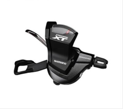 Shimano Deore XT SL-M8000 2/3 Speed Mountain Bike Bicycle Left Front Rapidfire Shifter Shift New In Box Single shimano x t r sl m9000 thumb shifter left