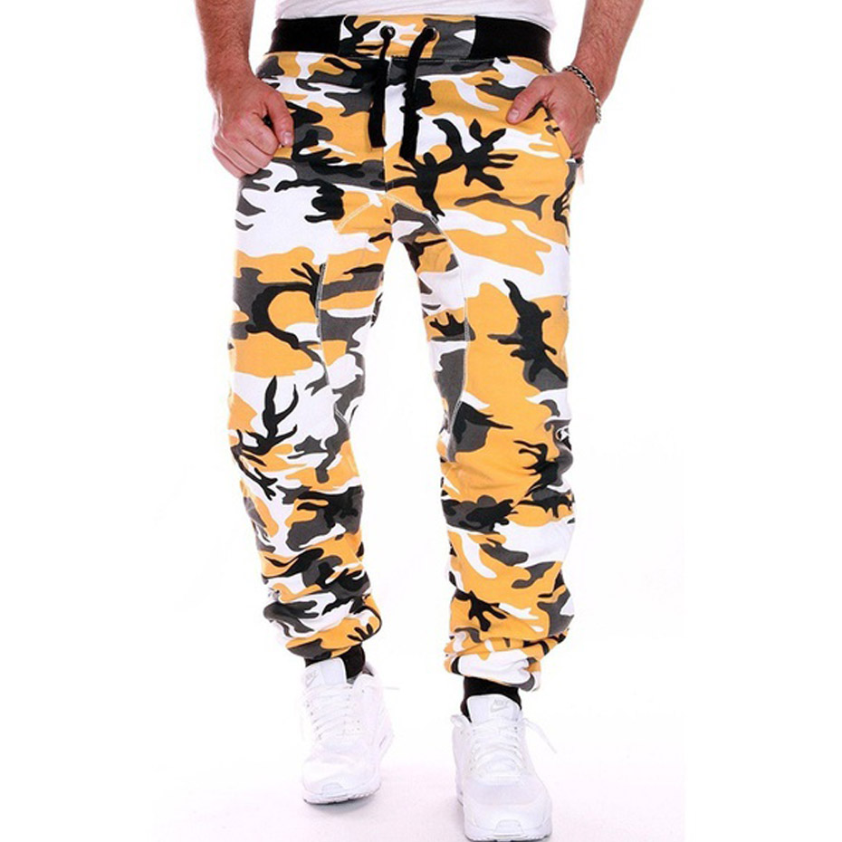 ZOGAA Sweatpants Jogging Fitness Workout Bodybuilding Outdoor Sports Camouflage Cotton