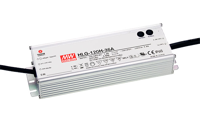 цена на [PowerNex] MEAN WELL original HLG-120H-48 48V 2.5A meanwell HLG-120H 48V 120W Single Output Switching Power Supply