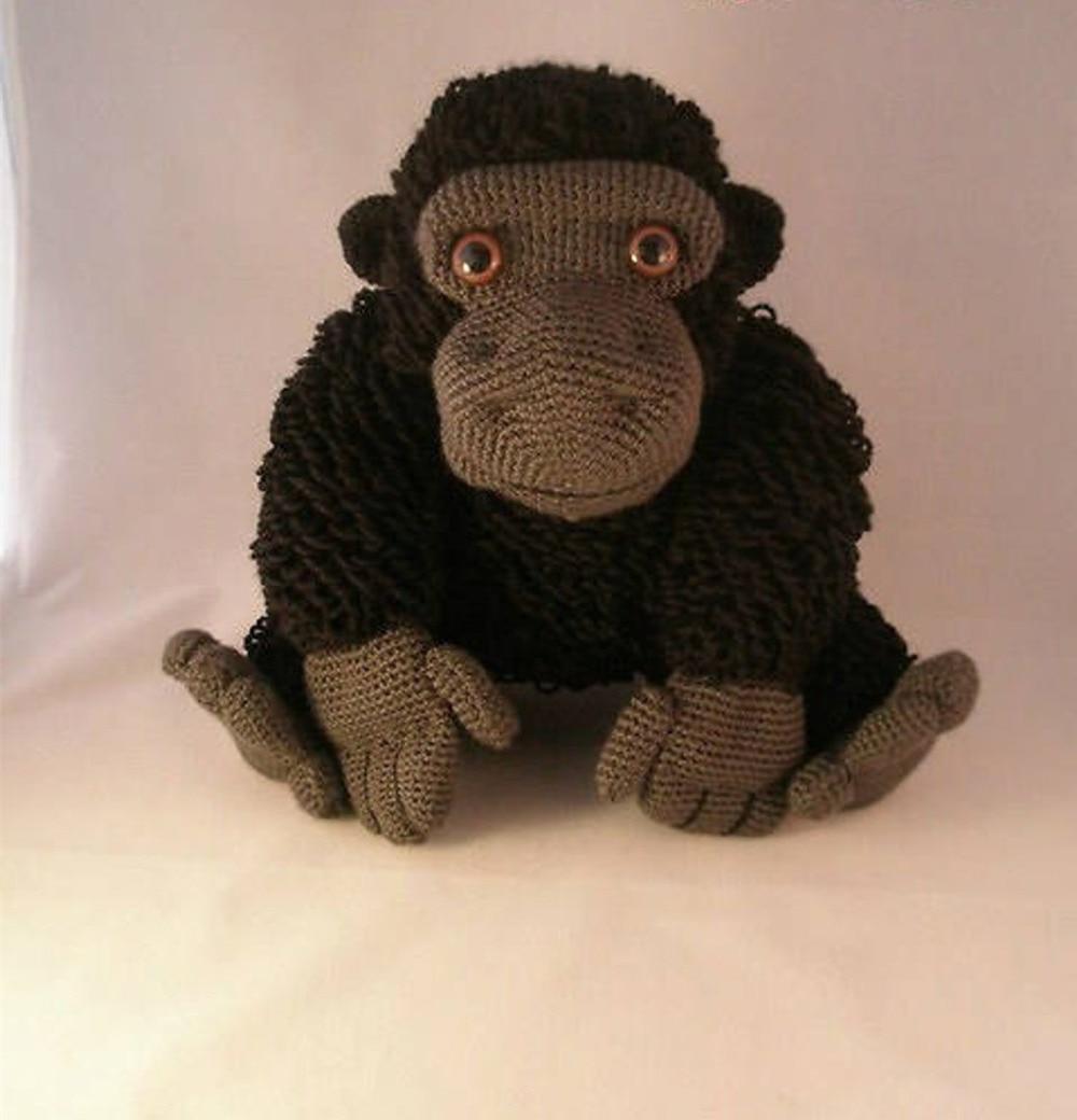 Crochet Toys  Amigurumi Girilla Model Number KO006