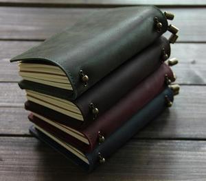 Image 3 - Alice Story 100% Genuine Leather Multi Function Travelers Notebook Diary Journal Vintage Handmade Cowhide Notebook Planner