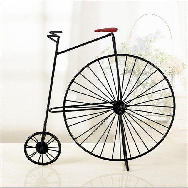 Vintage wohnkultur 3D Miniatur Fahrrad Dekoration Zubehör Mini ...