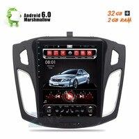 10.4 Android 6.0 Autoradio For 2012 2013 2014 2015 Focus FM RDS Car Stereo Headunit GPS Glonass Navigation 8 Core CPU No DVD