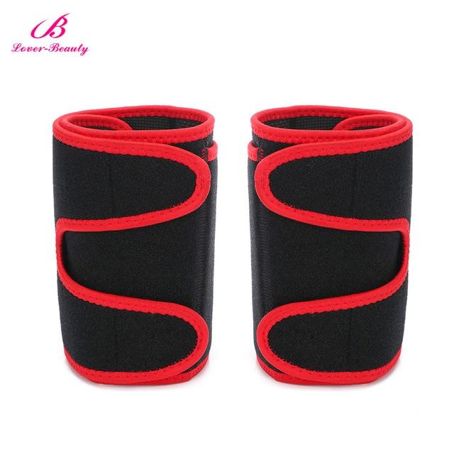 1 Pair Arm Trimmer Belt Sweat Fat Burn Weight Loss Workout Slimming Band Neoprene Body Arm Shaper Warmers Slimmer for Men Women