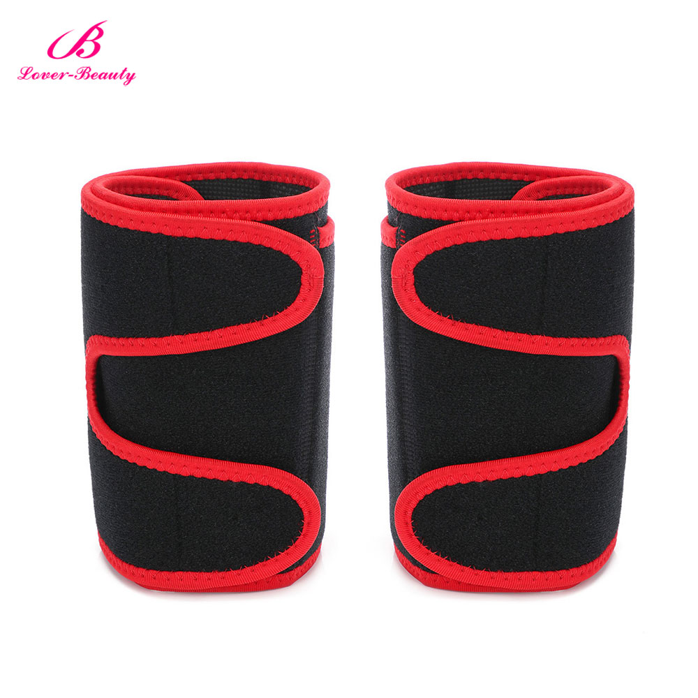 1 Pair Arm Trimmer Belt Sweat Fat Burn Weight Loss Workout Slimming Band Neoprene Body Arm Shaper Warmers Slimmer for Men Women image