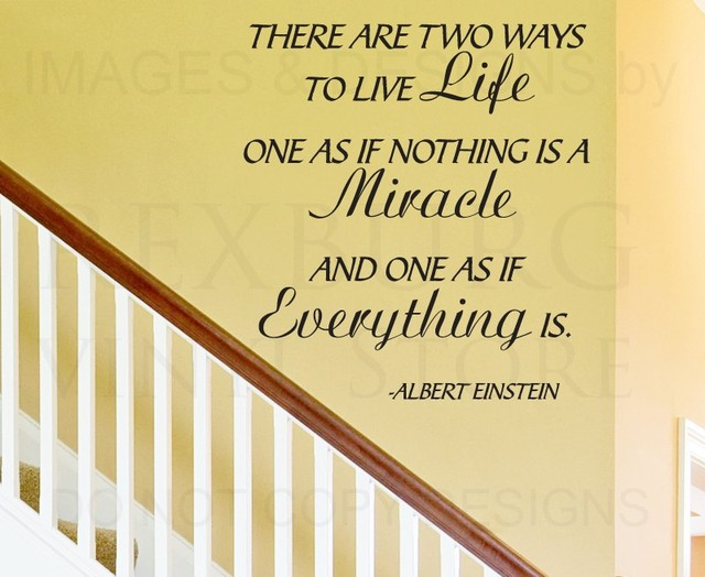 Wall Decal Art Sticker Quote Vinyl Lettering Letter Life Miracles ...