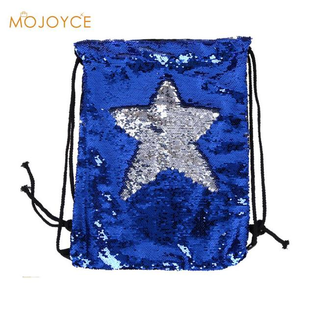Women Fashion Backpack Double Color Reversible Sequins Mermaid Backpacks  Funny Ladies Magic Sequins Rucksack for Girl 2018 New 0191fee8733f