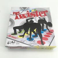 Cuerpo Twister Juego de Mover Inglés Versión Del Partido/Familia Juego Jugar Mat Junta Grupo Partido Picnic Diversión Al Aire Libre Juguetes de Los Deportes