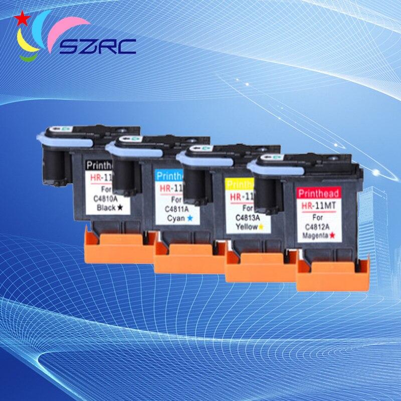High Quality C4810A C4811A C4812A C4813A HP11 Print Head Compatible For HP100 500 800 1000 1200 2300 2600 2800 printer head