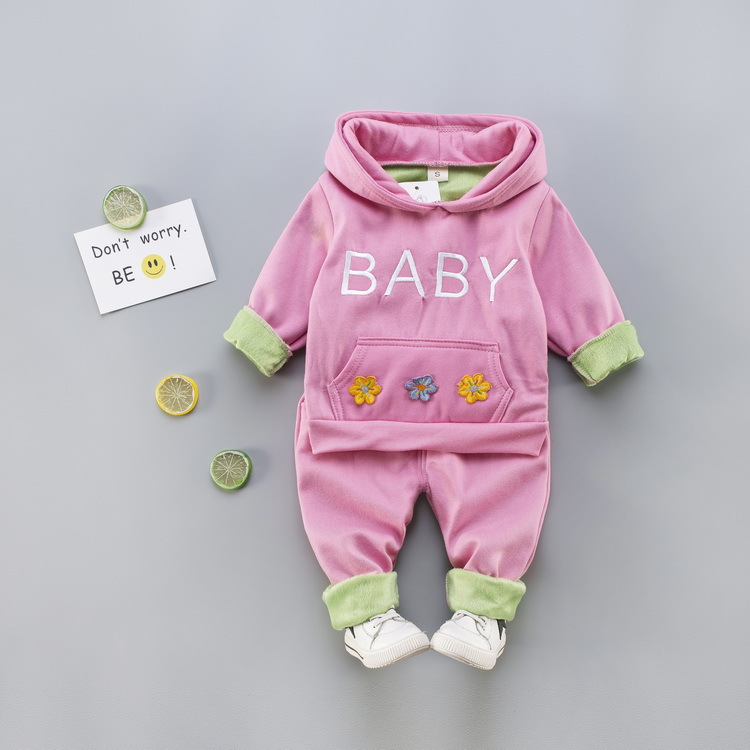 Cute Baby Girl Clothes Sets For Children High Qulity Autumn Winter Long Sleeve Print Toddler Girls Baby Suit Kid 1 2 3 4 Years