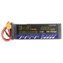 Tiger Power 7.4V 4500mAh 45C 2S Lipo Battery XT60 Plug For RC FPV Racing Camera Drone Spare Parts Accessories