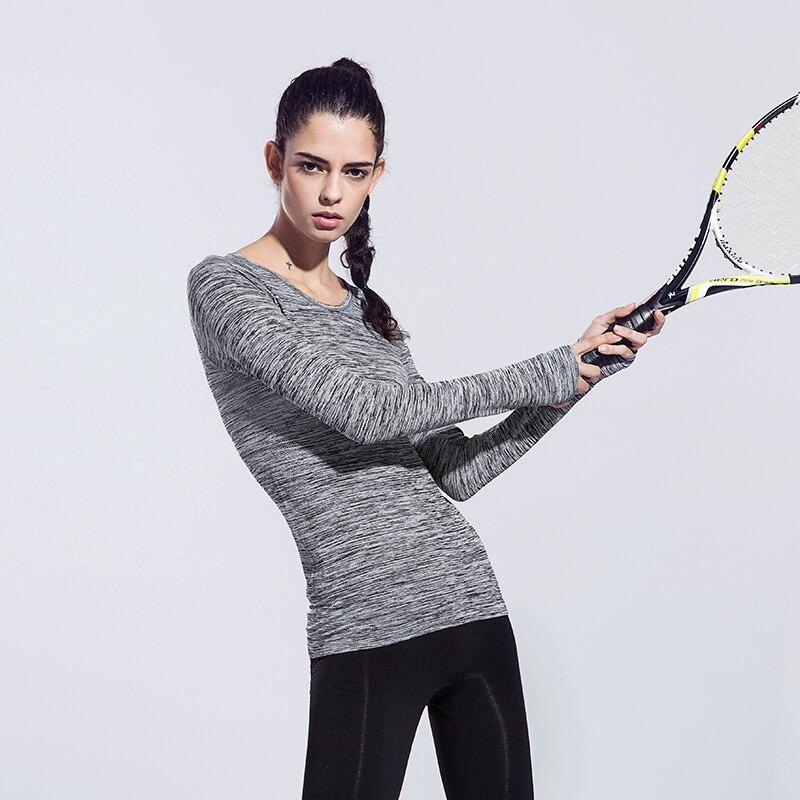 Nuevas mujeres de talla grande camisas de yoga Gimnasio de secado - Ropa deportiva y accesorios - foto 5