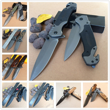 Knives Outdoor Box Blade Camp Open Multi Tool Hunting Pocket Survival Throwing Assisted Folding Folding Tactical Knife