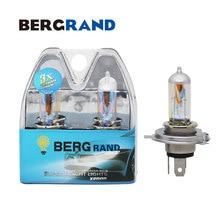 цена на 12V H4 60/55W Halogen Lamp Rainbow Gold Xenon Headlight Bulb 2900K Hard Glass P43t light bulbs for auto 2PCS