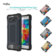 Wolfsay For Case Samsung Galaxy Grand Prime cover PC+Silicone Case For Samsung Grand Prime Case For Samsung Grand Prime G530 #