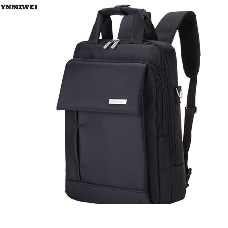Multi-used Backpack Computer PC Bag Mochila For Men Women 15 inch Business Waterproof Nylon Laptop Messenger Shoulder Hand Bags