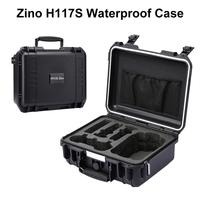 Waterproof Suitcase Handbag Explosion Proof Carrying Case Storage Bag Box for Hubsan Zino H117S 4K Folding Drone Accessories