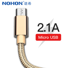 NOHON USB Cable Fast Charging Micro For Samsung Galaxy S7 S6 Huawei Xiaomi Mi Redmi 4 Android Phone Charger Sync Cables