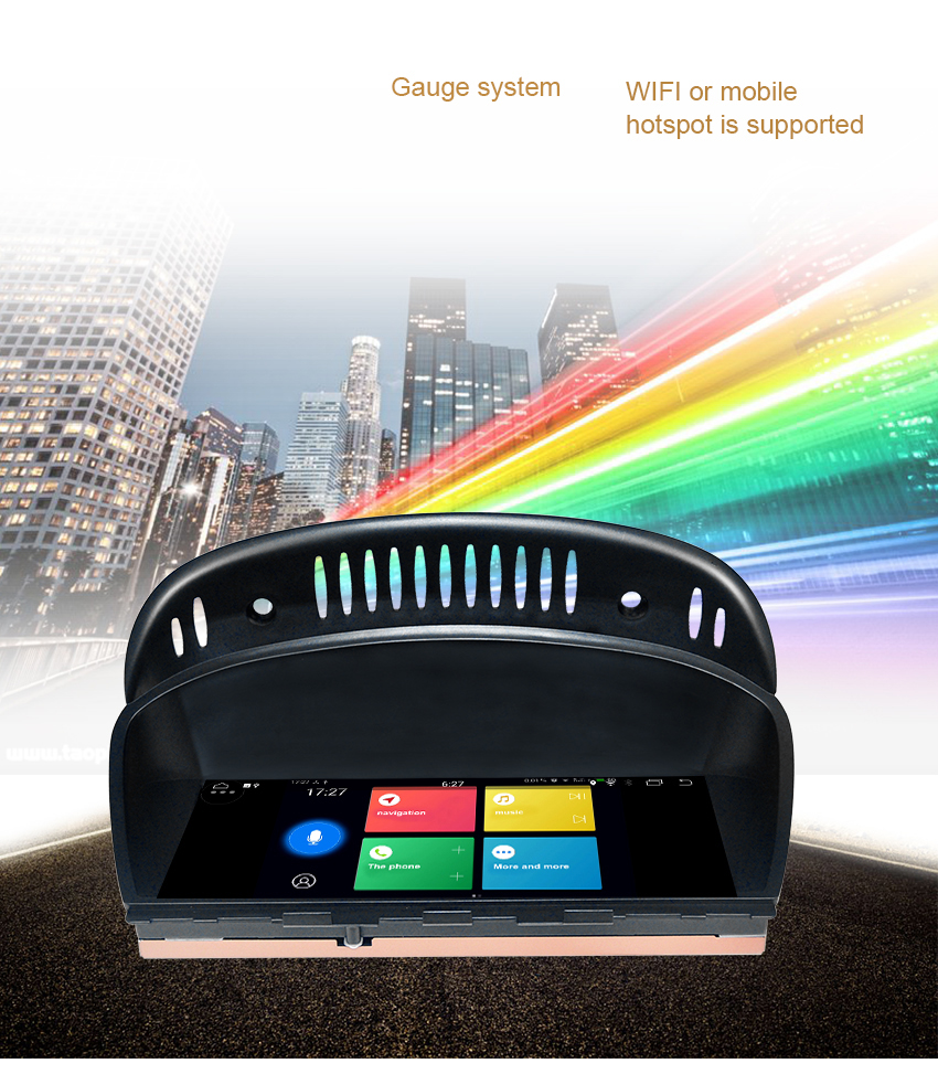 19 Koason Android Auto GPS Stereo for BMW E60 3 series CIC 2009-2010