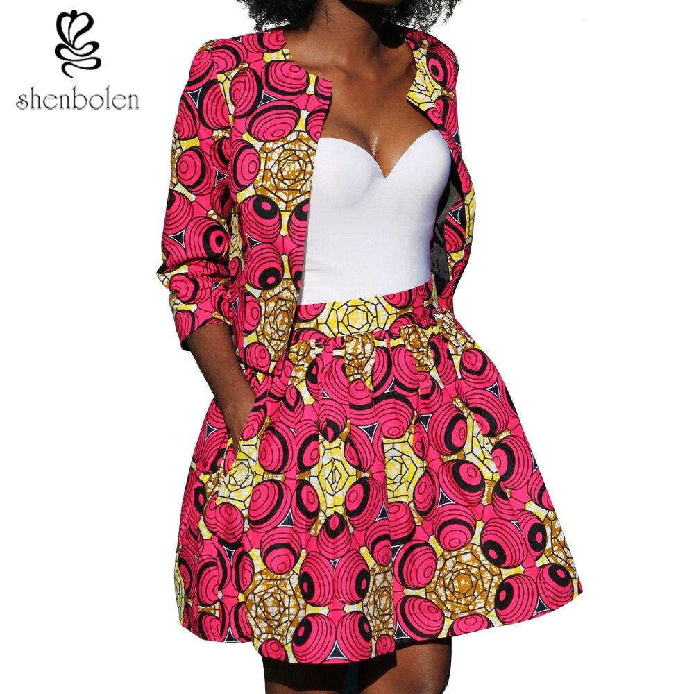2018 Musim Gugur Gaun Afrika Untuk Wanita Koordinat Mantel Rok Qampampq Resin Analog Jam Tangan Hitam Strap Karet Vq04j010y Fashion 2 Piece Suit Ankara Pakaian Lilin Batik Printing Katun