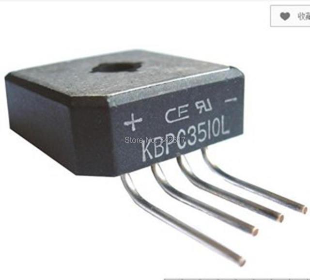 BR3510L High Current Bridge Diode Rectifier 35A 1000V For Voltage regulator 10PCS