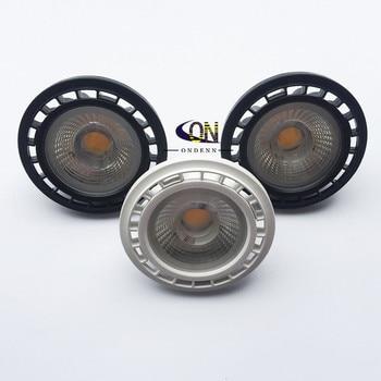 1 шт. Бесплатная доставка 12В G53 GU53 Dimmable LED AR111 встроенный вниз светильник 10 Вт 15 Вт GU10 LED AR111 свет ES111 Светодиодный прожектор AC85-265V