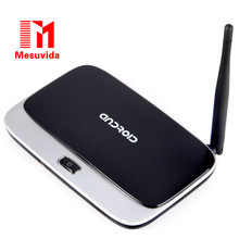Hakiki CS918-Q7 TV Kutusu RK3188 Quad-Core Android 4.4 Medya Hub Desteği Bluetooth WiFi Ethernet, HDMI AV Set-top Kutuları