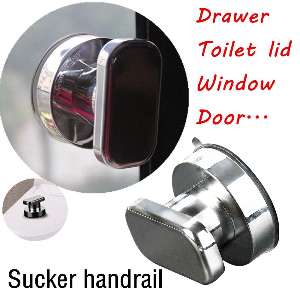 Bath Safety Handle Suction Cup Handrail Grab Bathroom Grip Tub Shower Bar Rail F121