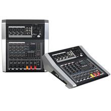 Mixing console recorder 48 V phantom power monitor AUX effect path 4-12 channel audio mixer USB comes with power amplifier LA eg1222pro high power professional all in one mixing audio console power amplifier 12 channel mixer