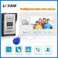 """home security 7"""" TFT LCD video door phone intercom door camera peephole video call and doorbell interfone teclado videoportero"""