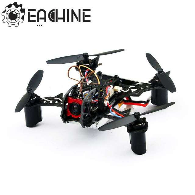 Hot New Eachine BAT QX105 w/ AIOF3_BRUSHED OSD 600TVL CAM 1020 Motor Buzzer Micro FPV Racing Quadcopter BNF